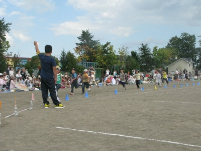 運動会小学生