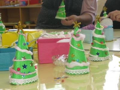 星の子さんもクリスマス製作2