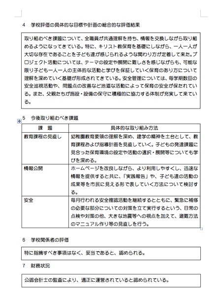 自己評価結果シート2012-2