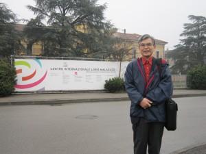レッジョ・エミリアの幼稚園を訪問する園長